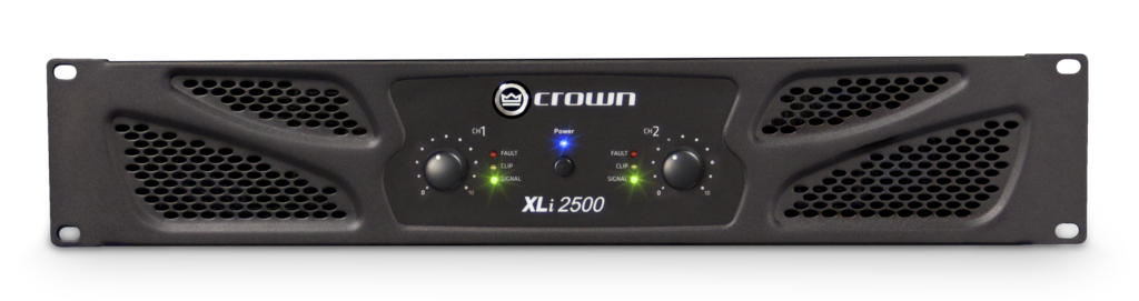 XLi 2500 | Crown Audio - Professional Power Amplifiers