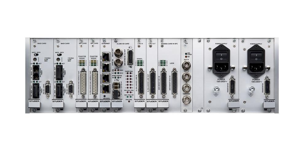 D23m Digital I/O System | Studer Professional Mixing Consoles