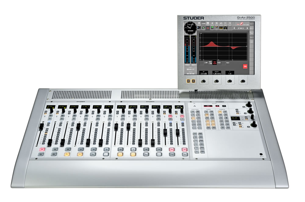 onair 2500 studer professional mixing consoles. Black Bedroom Furniture Sets. Home Design Ideas