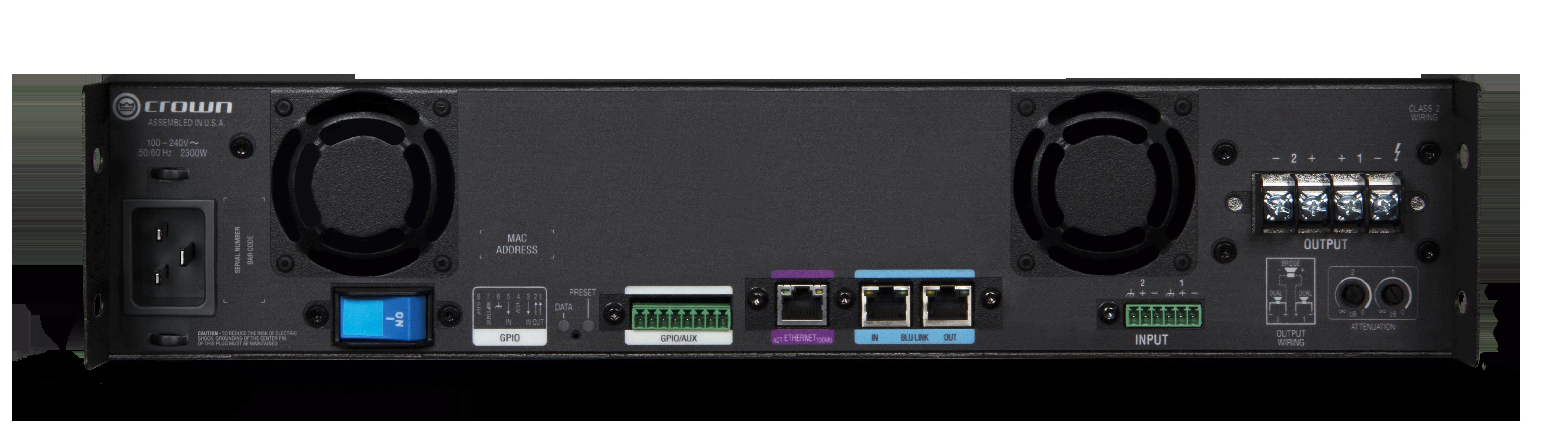 dci 2 2400n crown audio professional power amplifiers rh crownaudio com Class 2 Electrical Wiring Class 2 Circuits