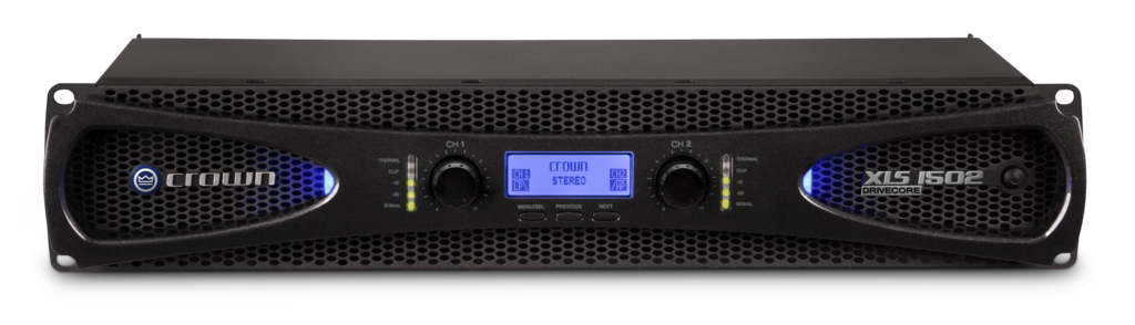 XLS 1502 | Crown Audio - Professional Power Amplifiers