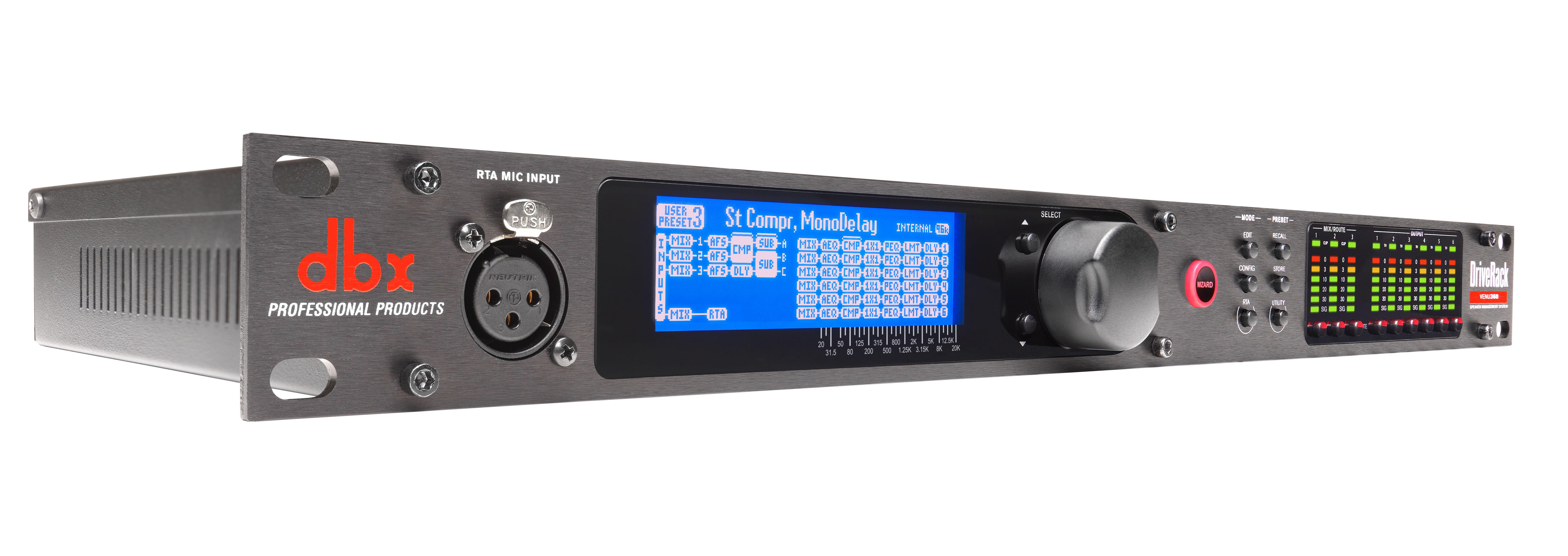 Driverack Venu360 Dbx Professional Audio Simpletouchtonesuptmsupgenerator Signalprocessing Circuit Angle Tiny Square