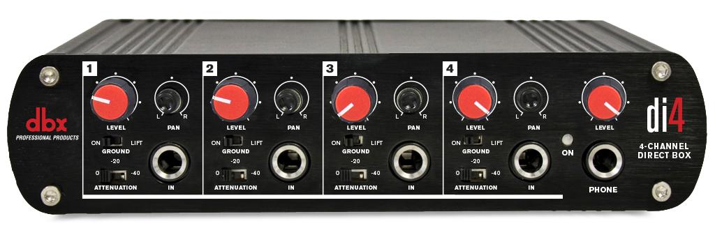 DI4 | dbx Professional Audio