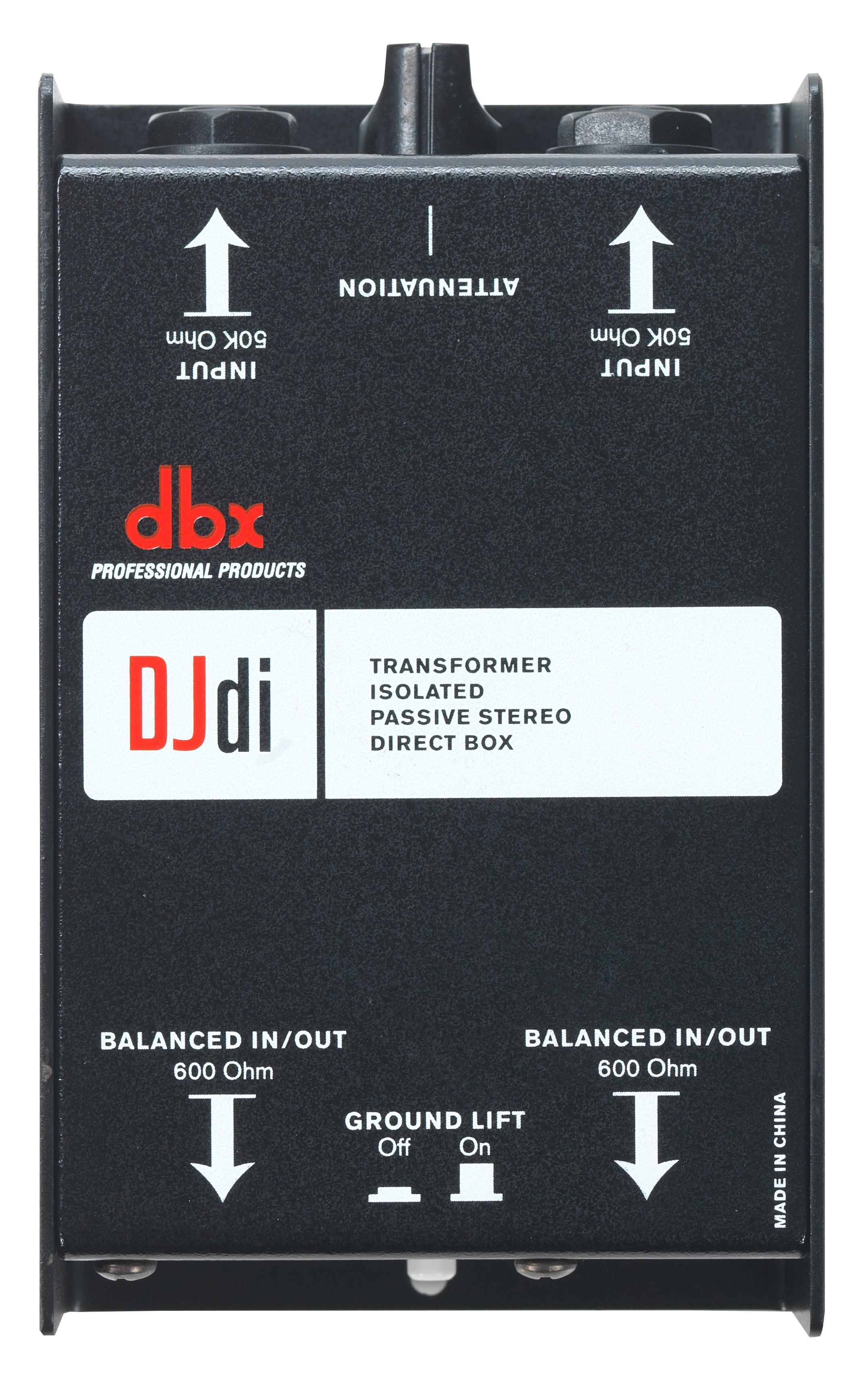 dbx dB10 Passive DI Direct Box