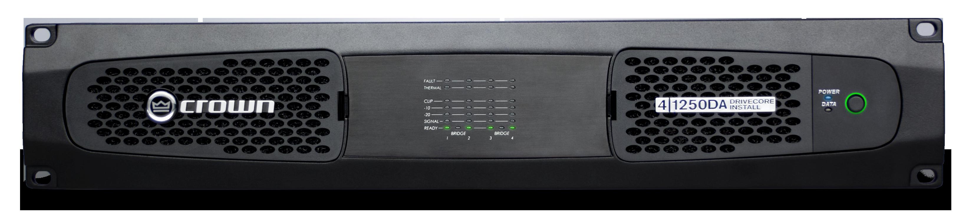 dci 4 1250da crown audio professional power amplifiers. Black Bedroom Furniture Sets. Home Design Ideas