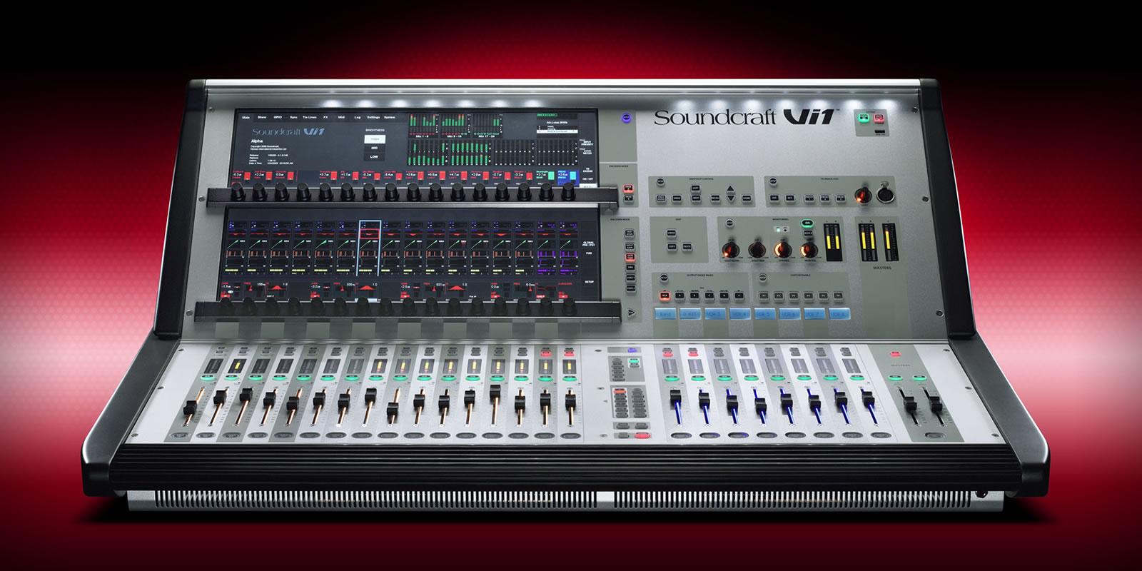 Vi1 | Soundcraft - Professional Audio Mixers