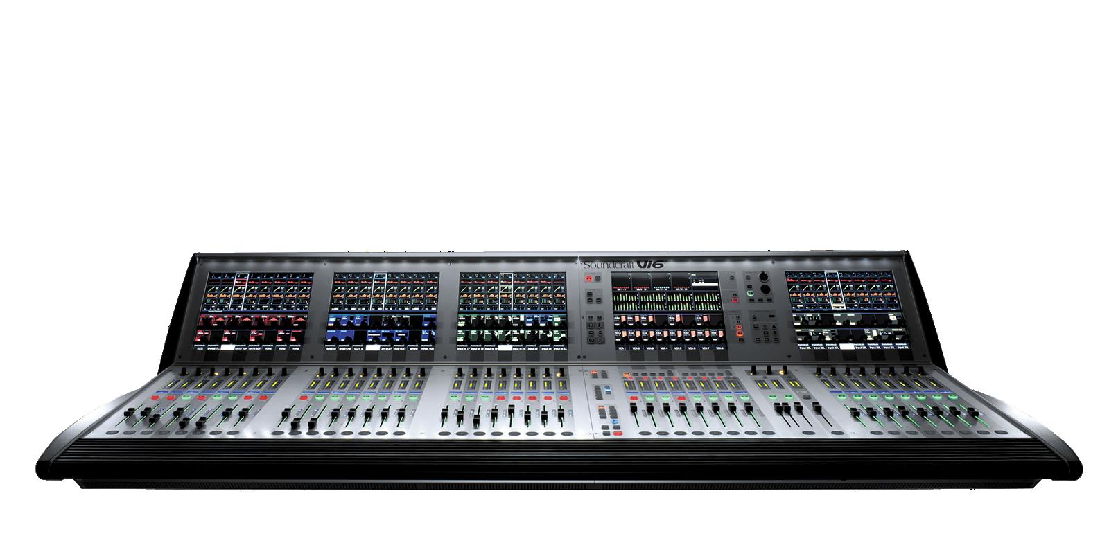 Vi6 Soundcraft Professional Audio Mixers
