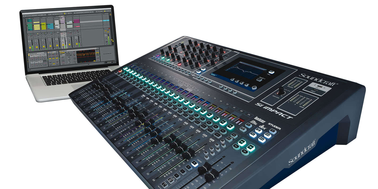 Si Impact | Soundcraft - Professional Audio Mixers