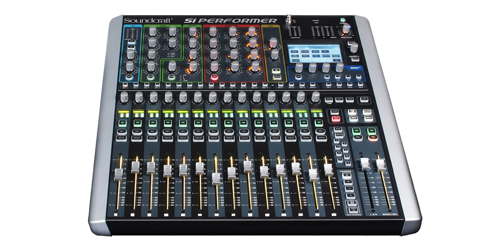 Si Performer 1 Soundcraft Professional Audio Mixers Diagram Further Stage Snake Setup On Live Sound System