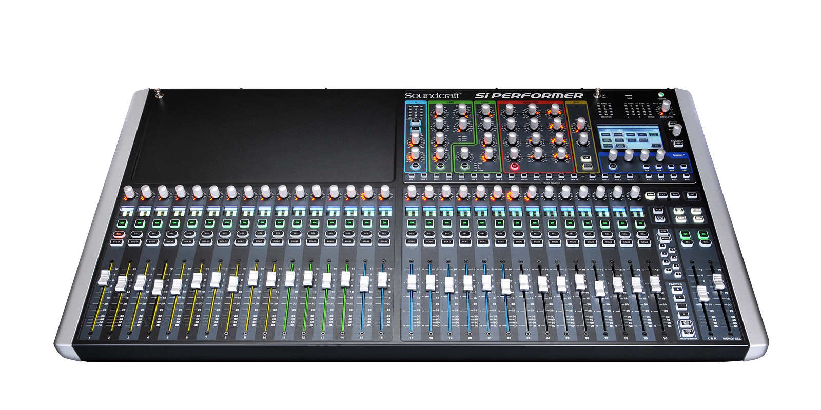 si performer 3 soundcraft professional audio mixers. Black Bedroom Furniture Sets. Home Design Ideas