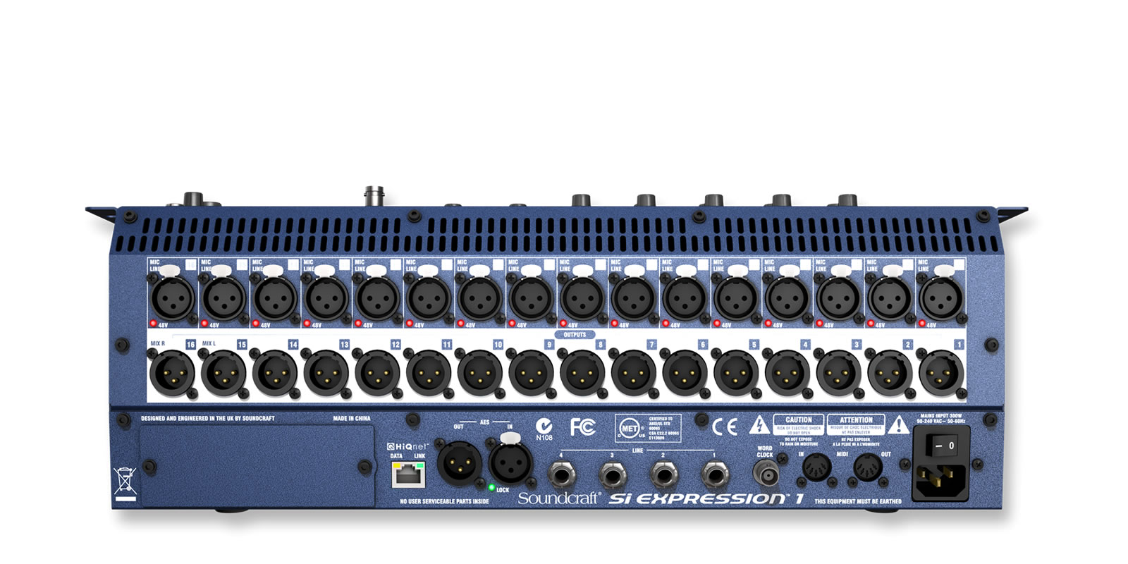 Si Expression 1 Soundcraft Professional Audio Mixers Simple Microphone Mixer Circuit With Op Amp Mic Pre