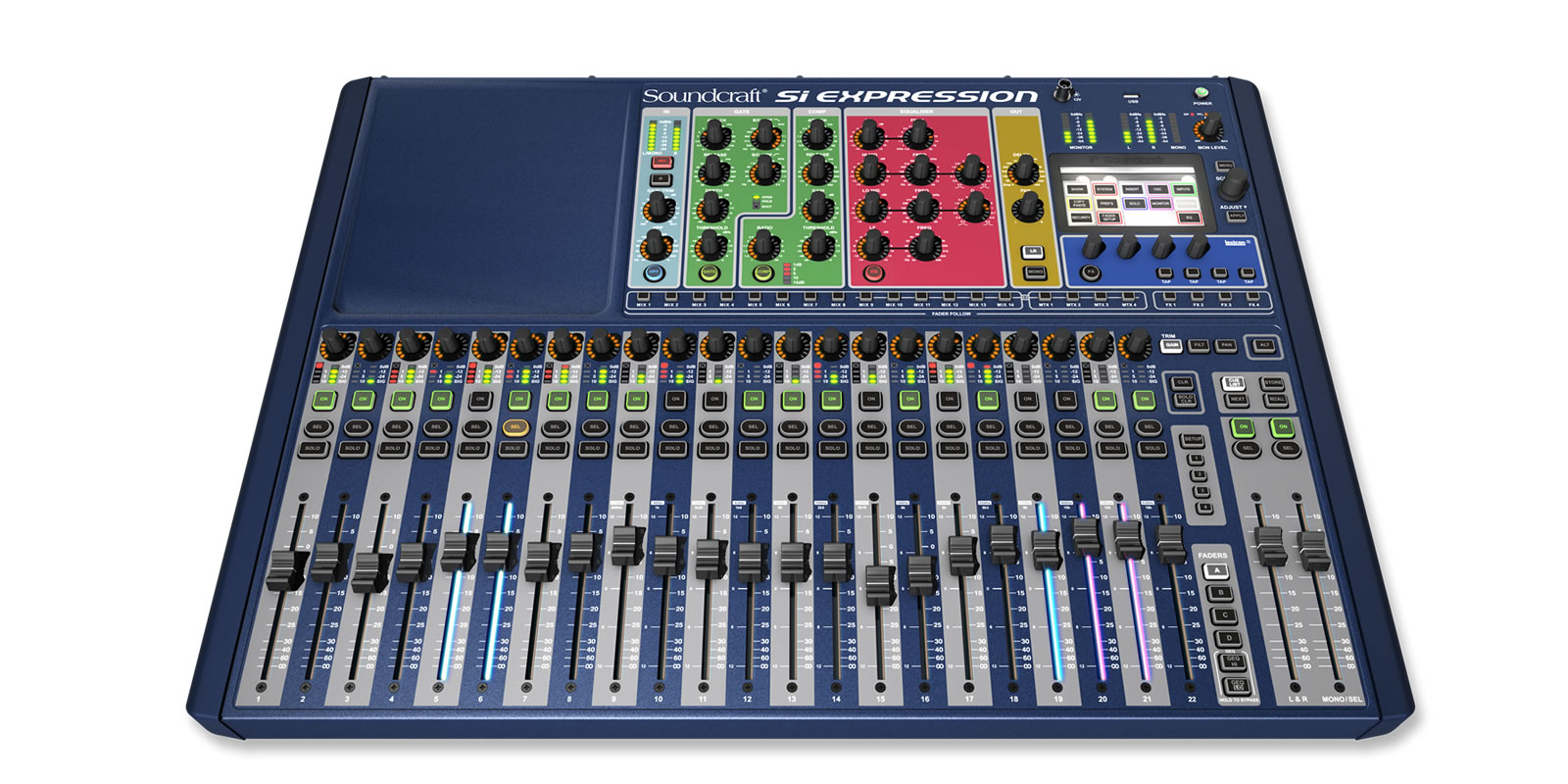 Si Expression 2 Soundcraft Professional Audio Mixers Buy Integrated Electronics Analog And Digital Circuit English 2nd Powerful Cost Effective Console
