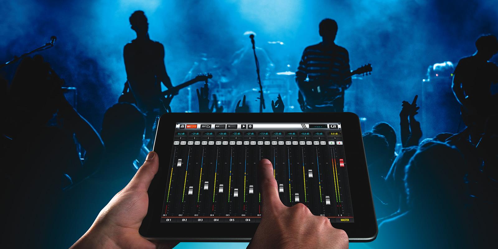 Ui16   Soundcraft - Professional Audio Mixers