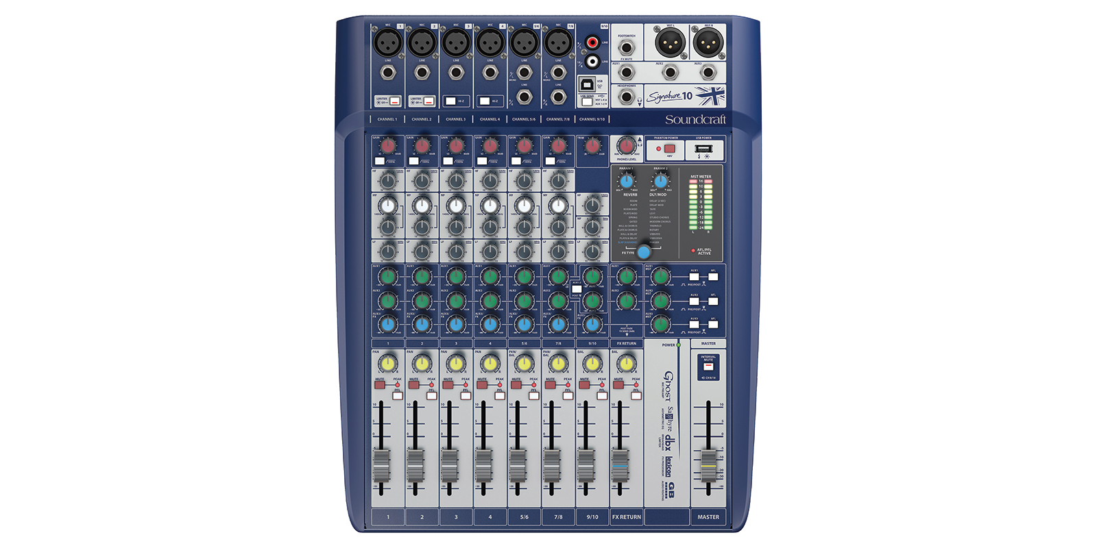 Signature 10 Soundcraft Professional Audio Mixers Stk Amplifier Scheme Larger Images
