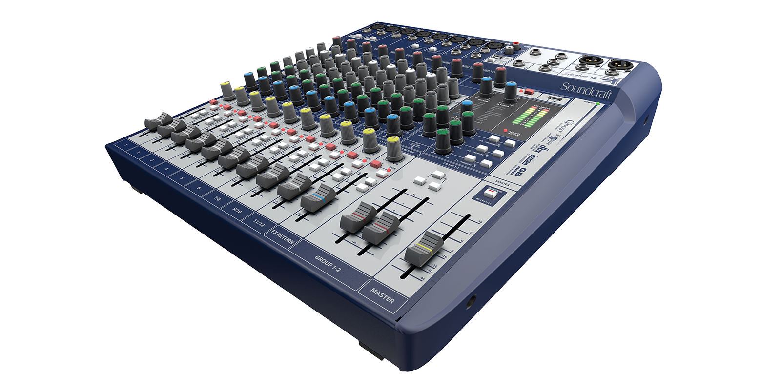 Signature 12 Soundcraft Professional Audio Mixers Simple Mixer Circuit Together With Compact Analogue Mixing Your Sound
