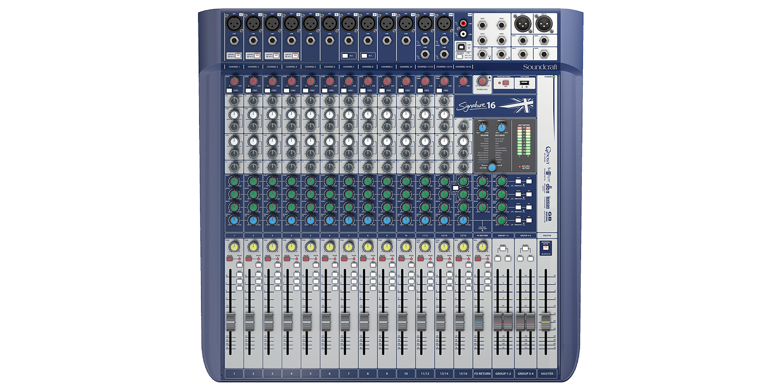 Signature 16 | Soundcraft - Professional Audio Mixers