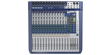 Signature 16 | Soundcraft - Professional Audio Mixers on
