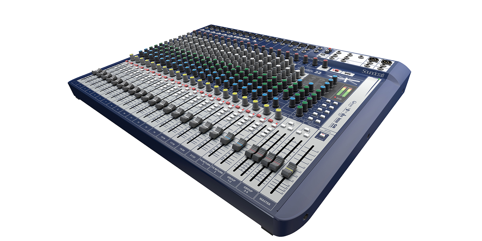 Signature 22 Soundcraft Professional Audio Mixers Preamplifier For Soundcard Larger Images