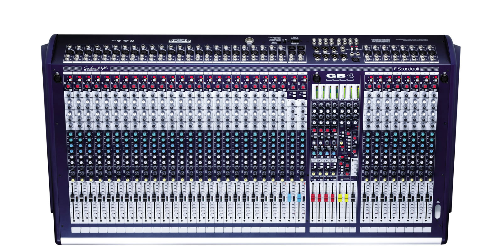 Gb4 Soundcraft Professional Audio Mixers Stereo Mixer For Microphone With 2 Channels