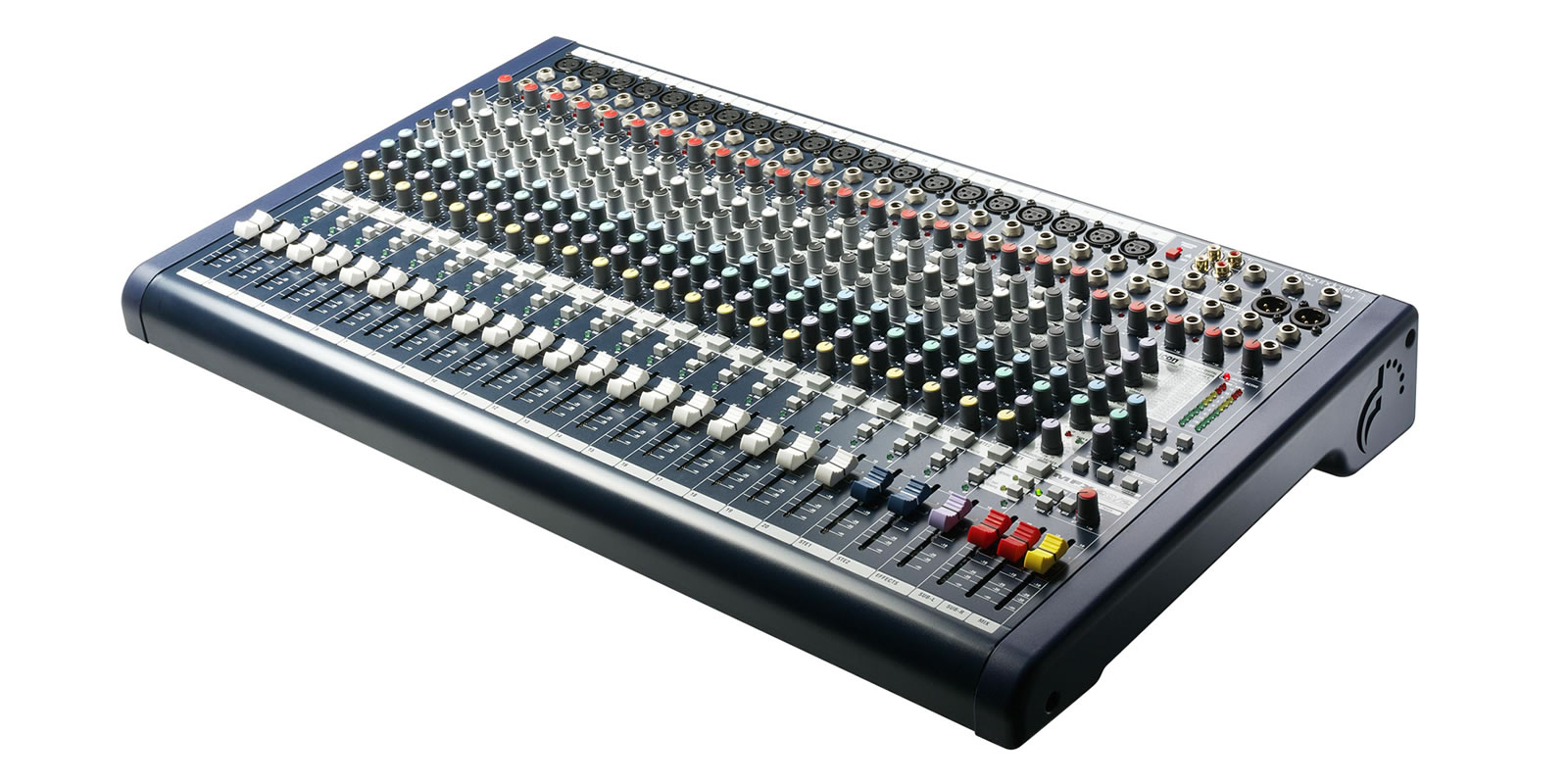 how to put each sound on the mixer