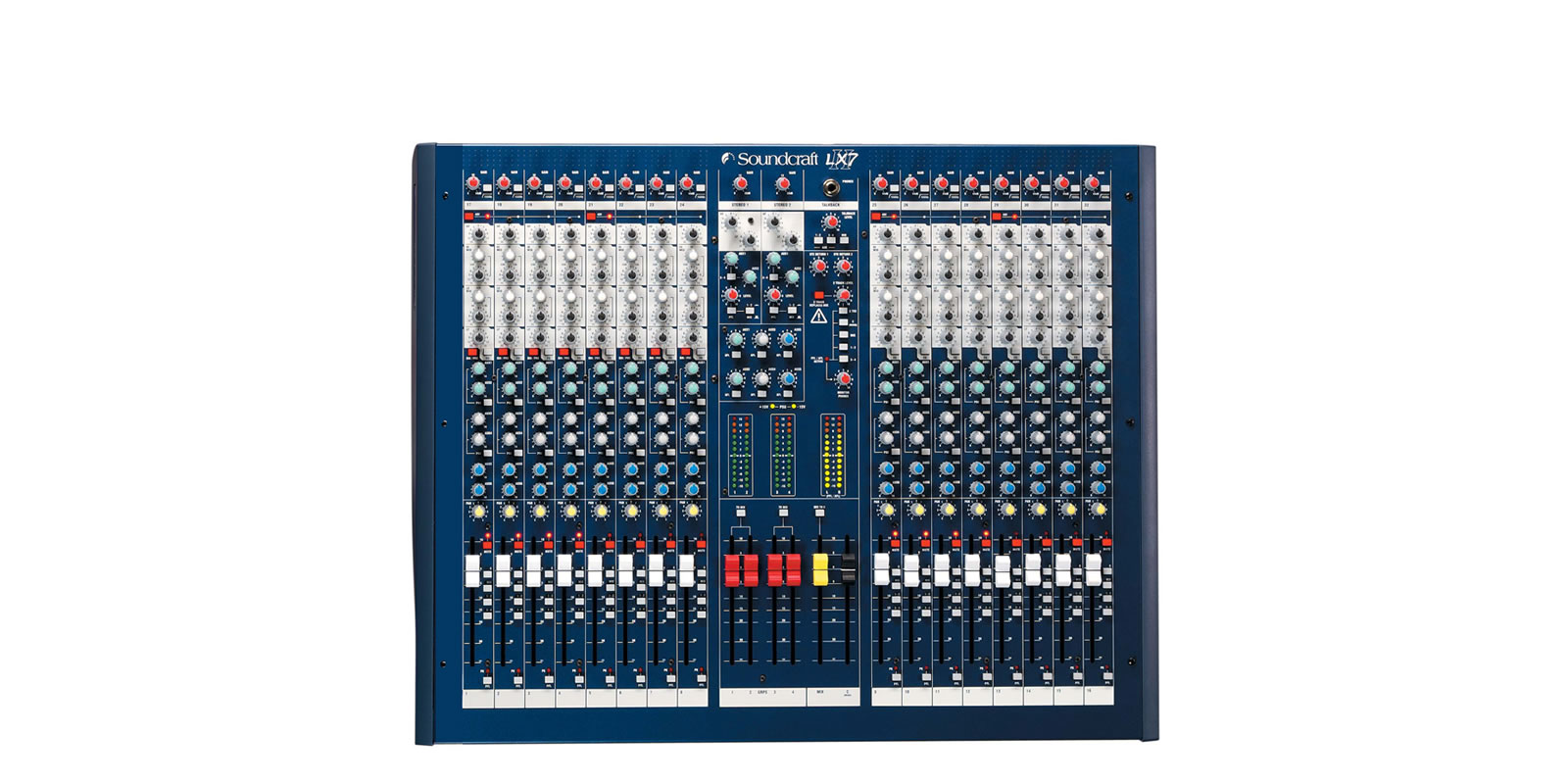 Lx7ii Soundcraft Professional Audio Mixers Live Pa Wiring Diagrams 16 Top Tiny Square