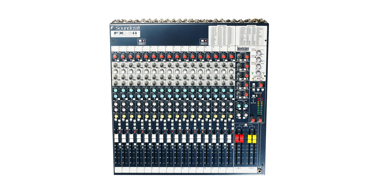 Fx16ii Soundcraft Professional Audio Mixers Supply Summing Amplifier For Mixer Circuit Schematic Diagram Top Tiny Square