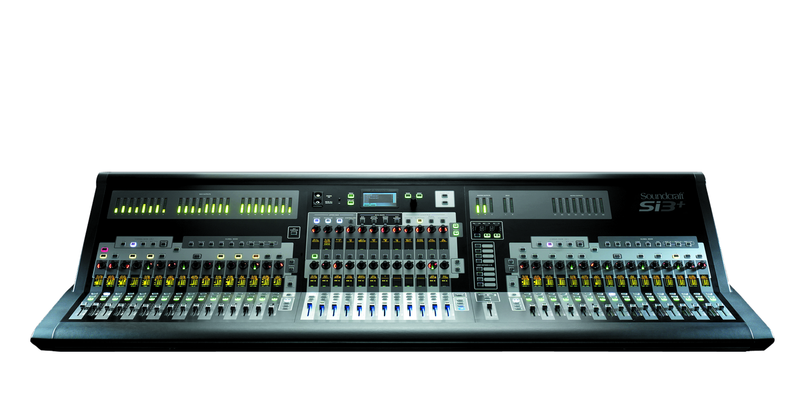 Si3 Soundcraft Professional Audio Mixers An Easy To Use Led Bargraph Display Monitor Levels Circuit Discontinued