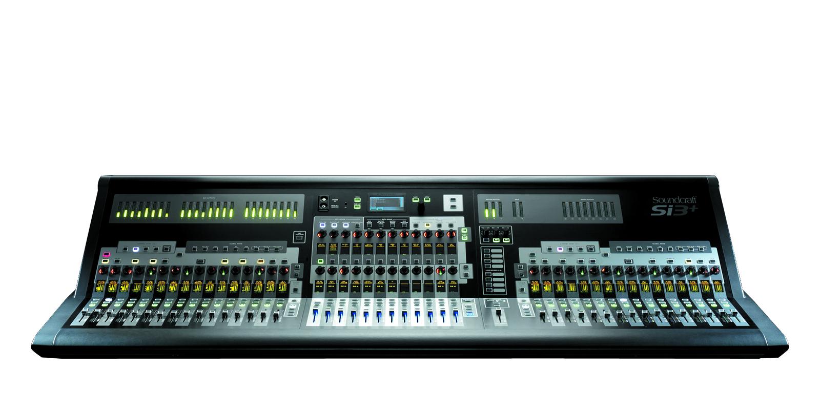 Si3+ | Soundcraft - Professional Audio Mixers