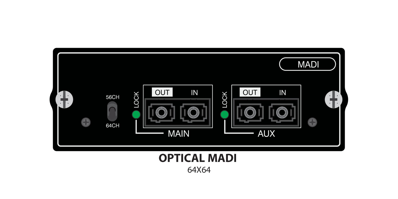 Si Option Cards Soundcraft Professional Audio Mixers 2 Way Manual Usb Switch Box Larger Images