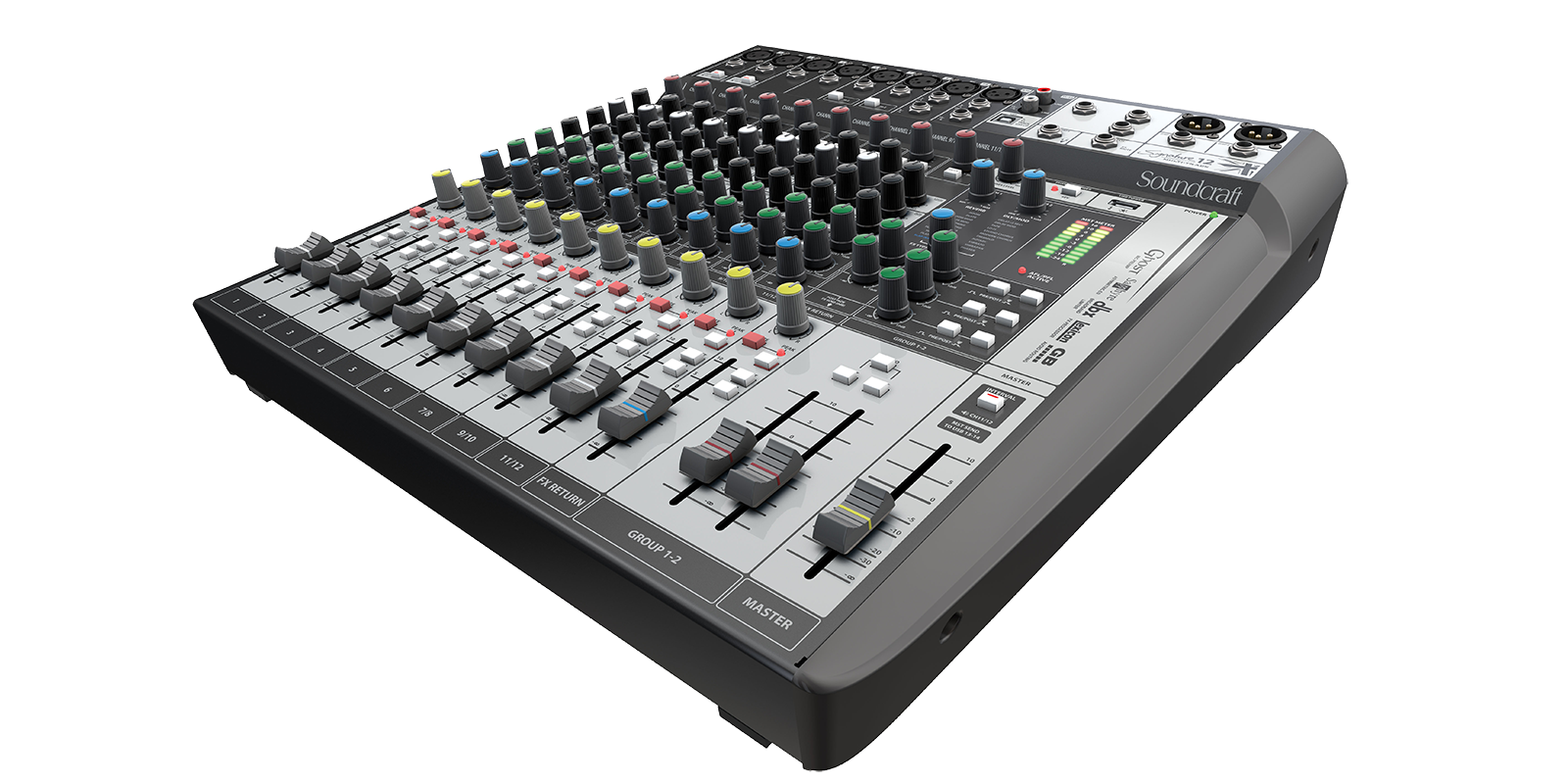 Signature 12 MTK | Soundcraft - Professional Audio Mixers