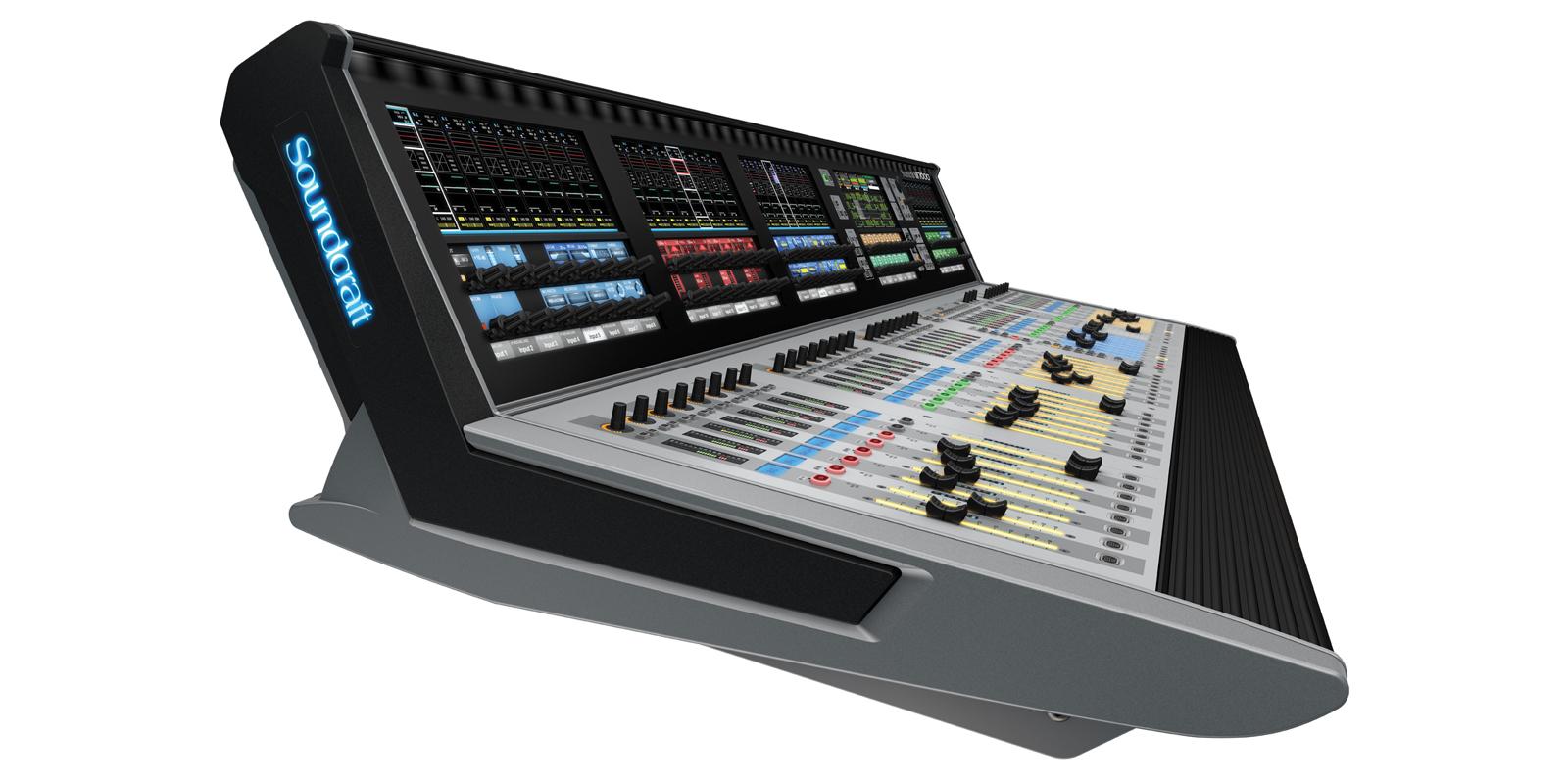 Vi7000 Soundcraft Professional Audio Mixers Rack Wiring