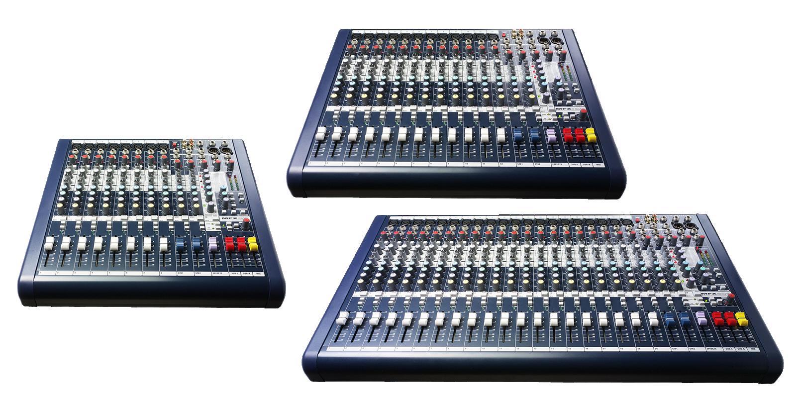 mfx soundcraft professional audio mixers. Black Bedroom Furniture Sets. Home Design Ideas