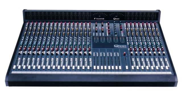 Ghost | Soundcraft - Professional Audio Mixers