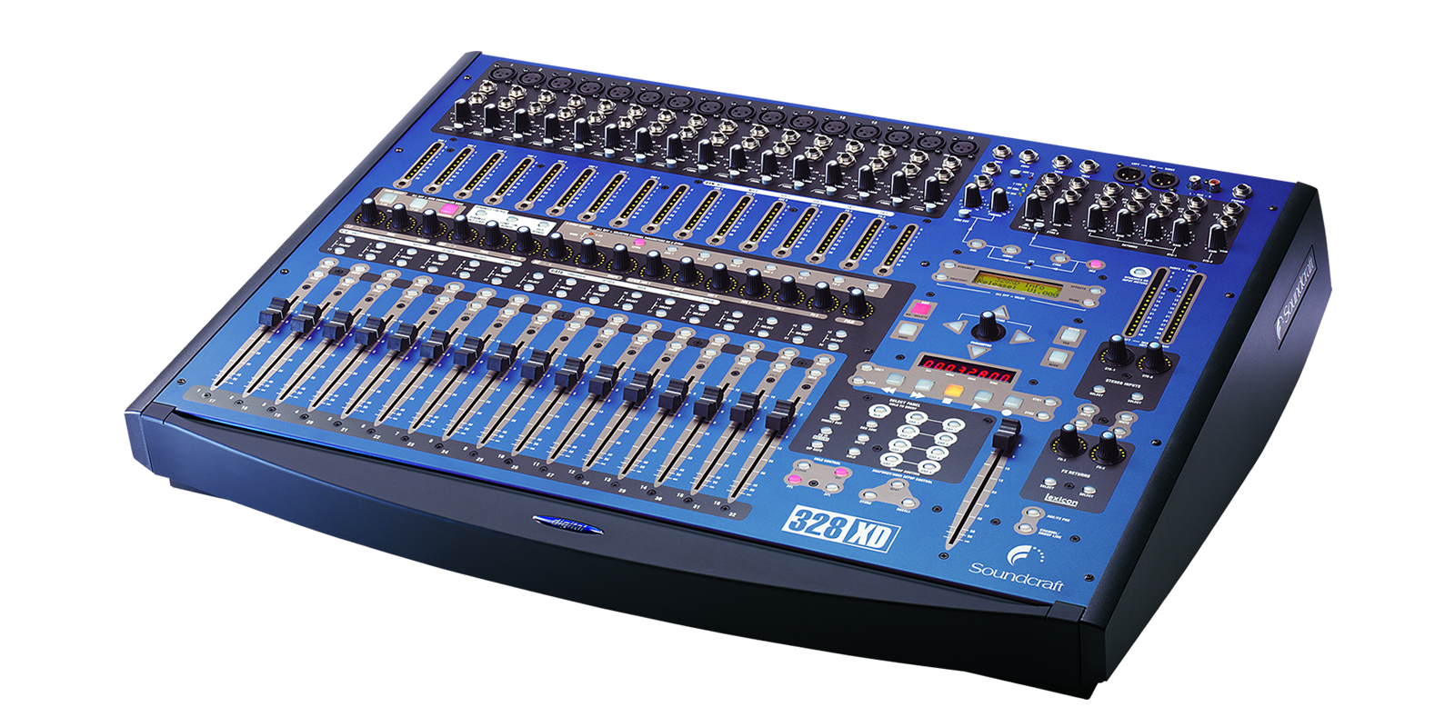 328 Xd Soundcraft Professional Audio Mixers Integrated Electronics Analog And Digital Circuits Systems Tiny Square