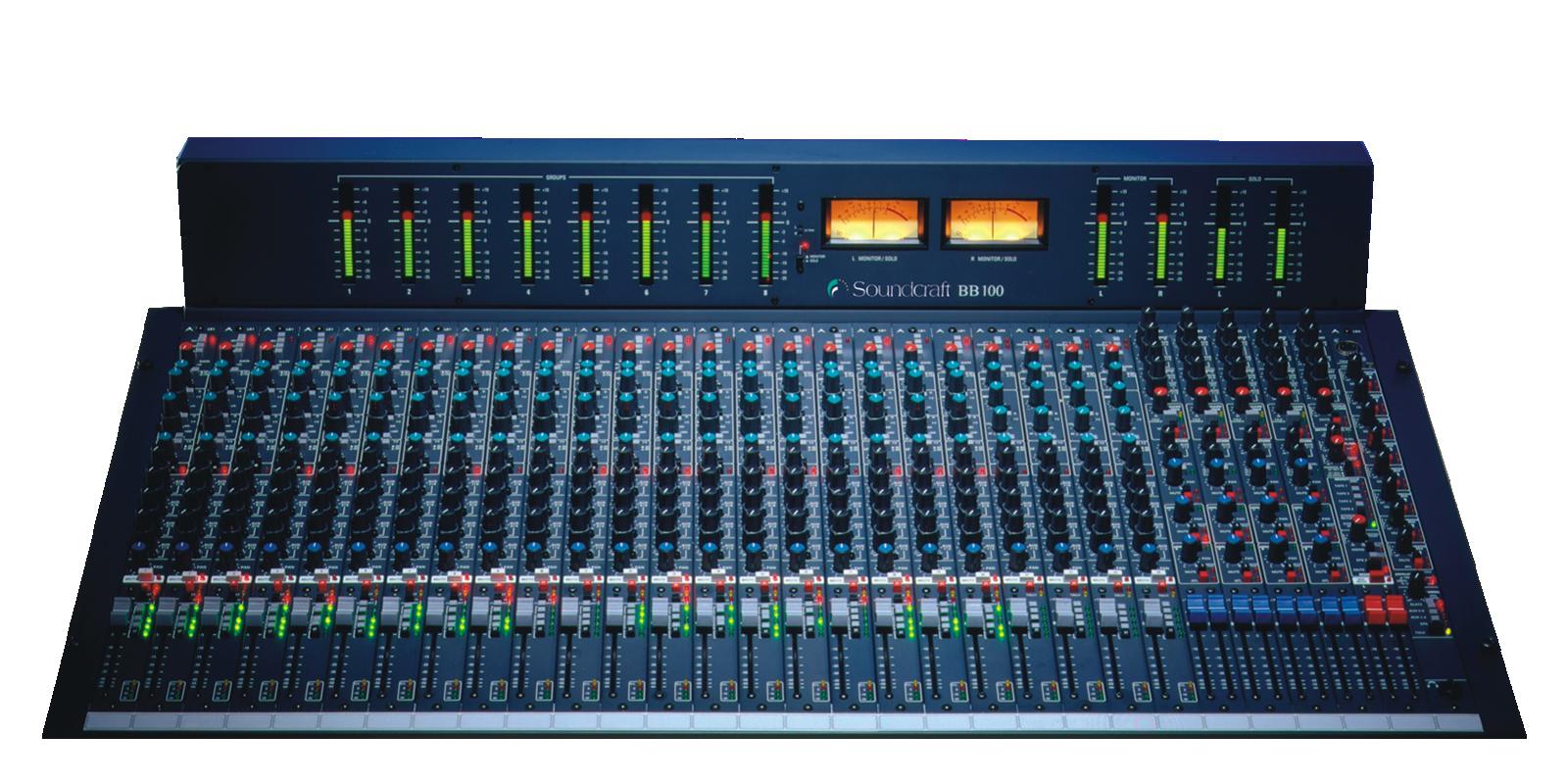 Bb100 Soundcraft Professional Audio Mixers Vu Meter Mono Circuit Discontinued