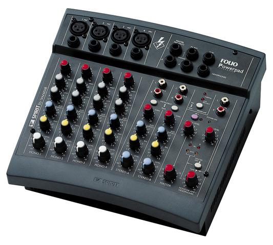 Verbazingwekkend Spirit Powerpad | Soundcraft - Professional Audio Mixers UD-12
