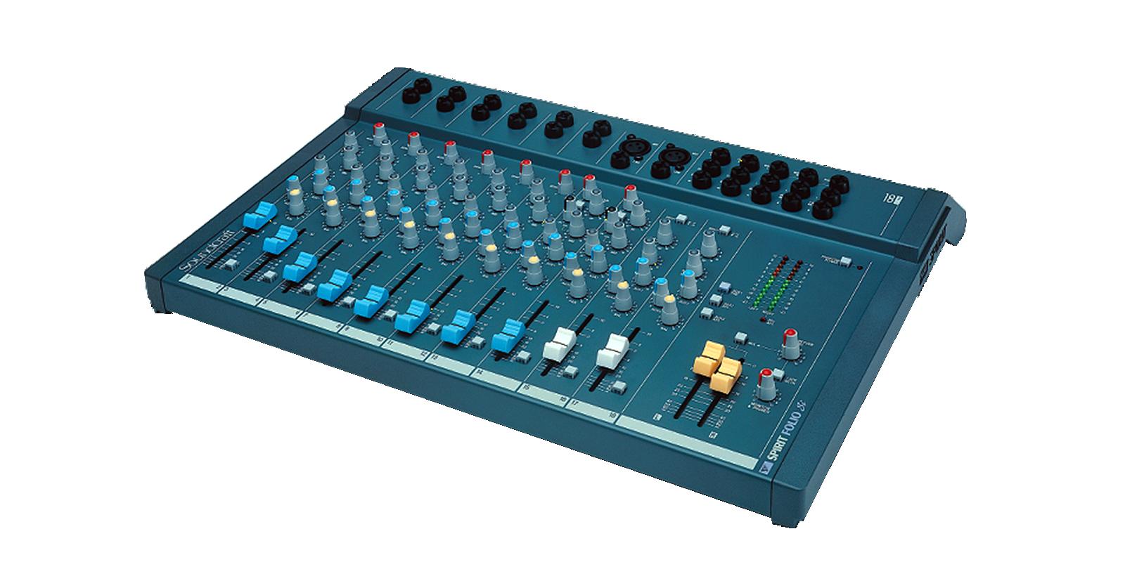 Super Spirit Folio SI | Soundcraft - Professional Audio Mixers FF-88