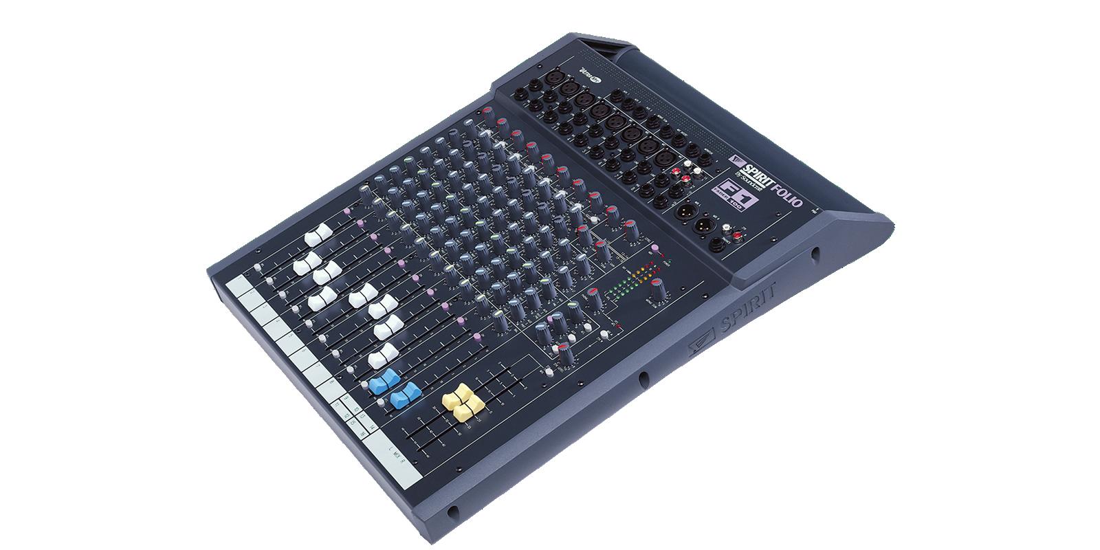 Ongebruikt Spirit F1 | Soundcraft - Professional Audio Mixers DR-25