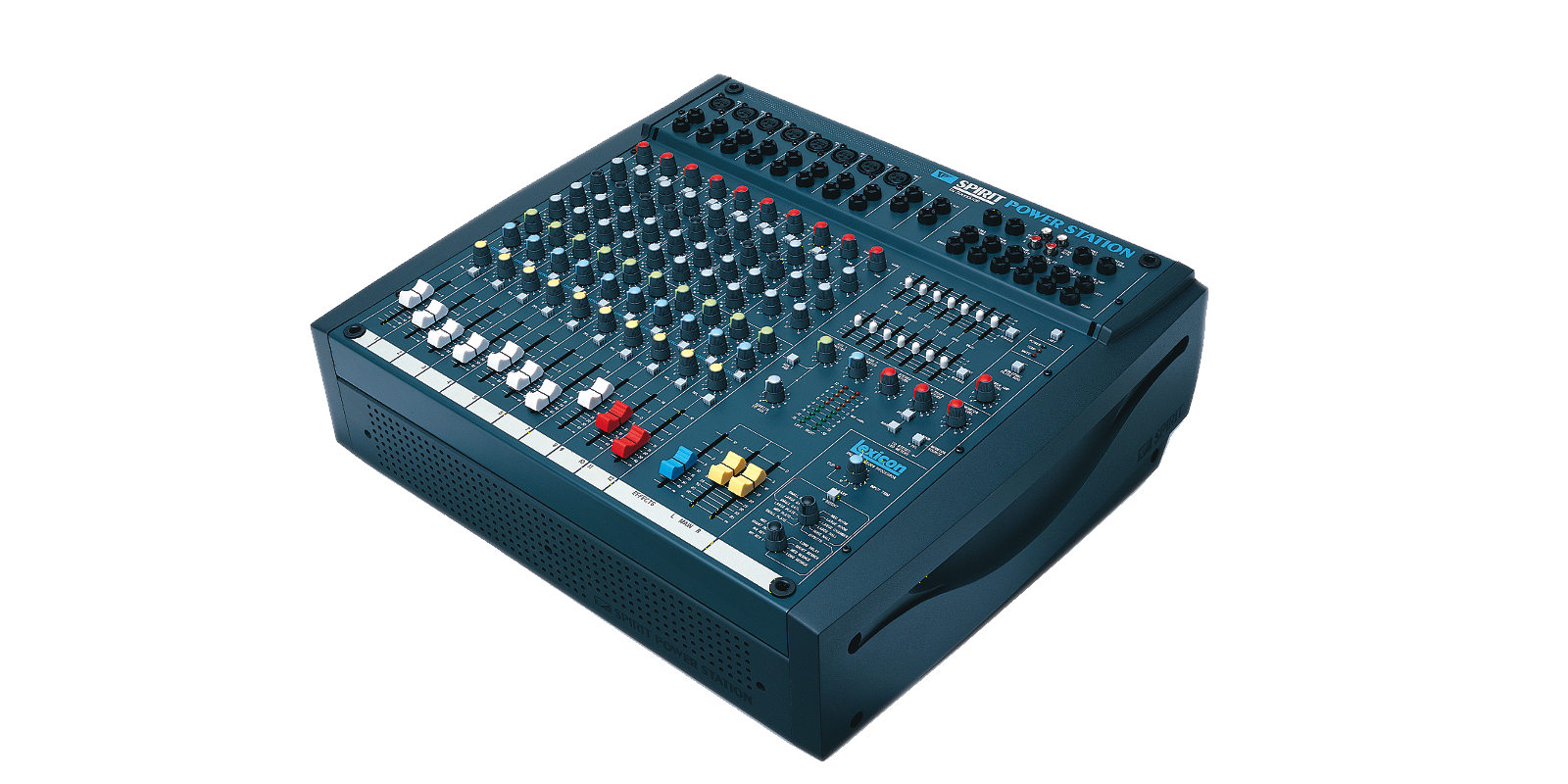 Spirit Powerstation Soundcraft Professional Audio Mixers An Easy To Use Led Bargraph Display Monitor Levels Circuit Larger Images