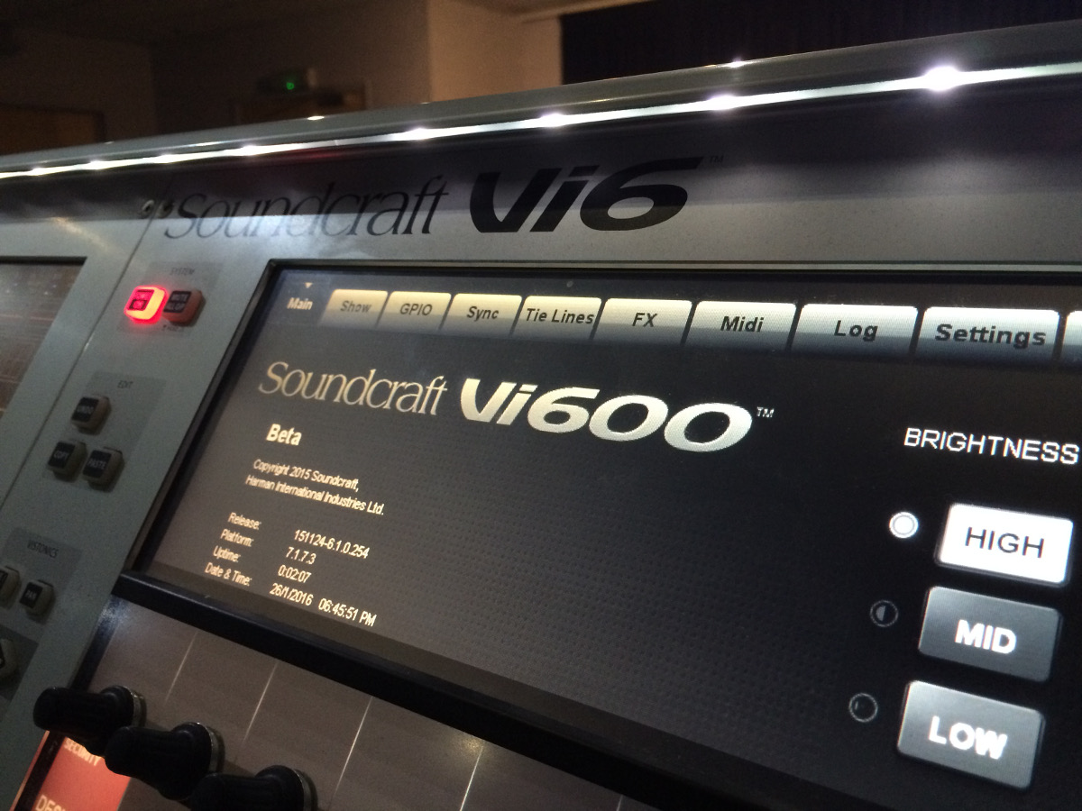 vi400600 upgrade soundcraft professional audio mixers