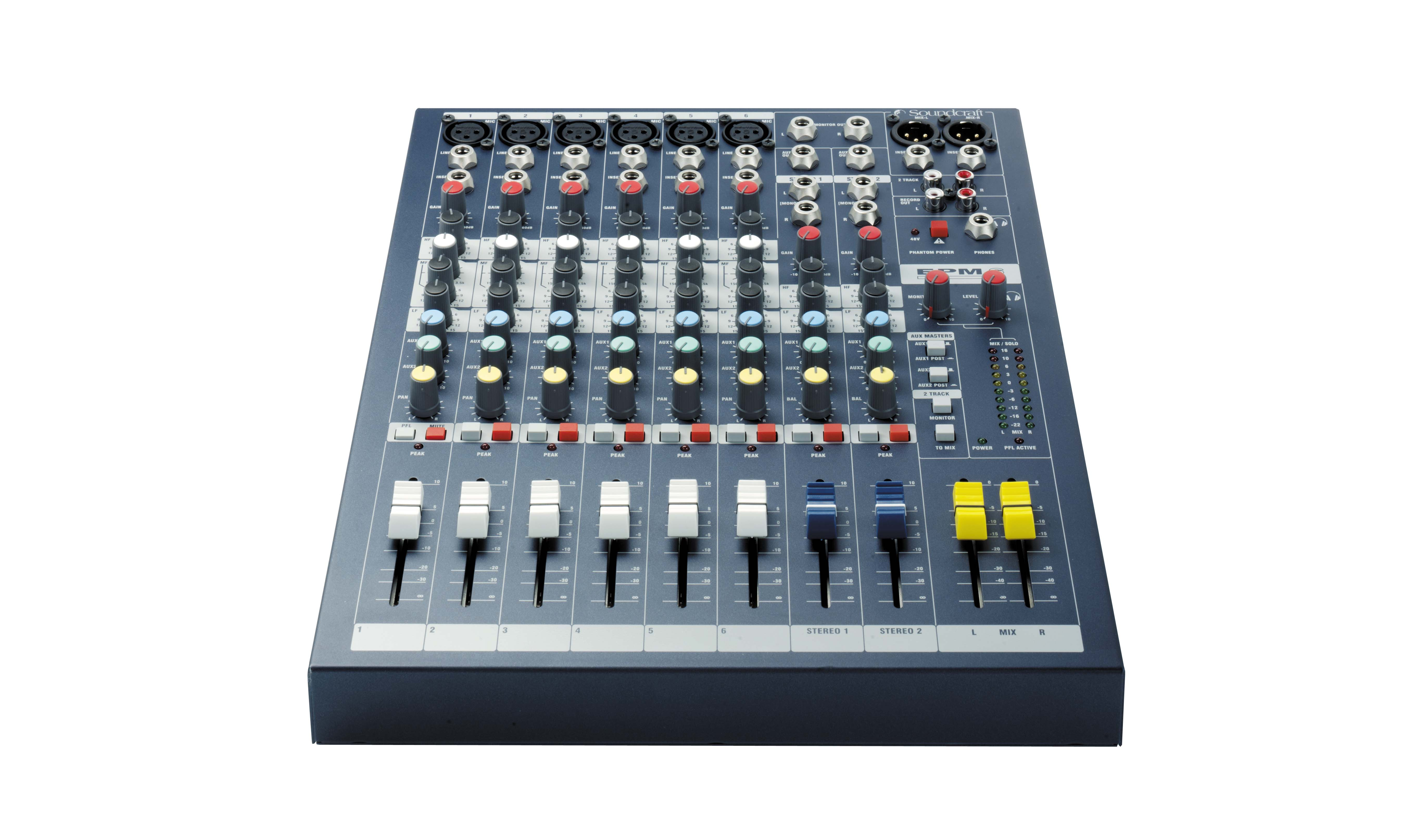 Epm6 Soundcraft Professional Audio Mixers Wiring Xlr Musical Theatre