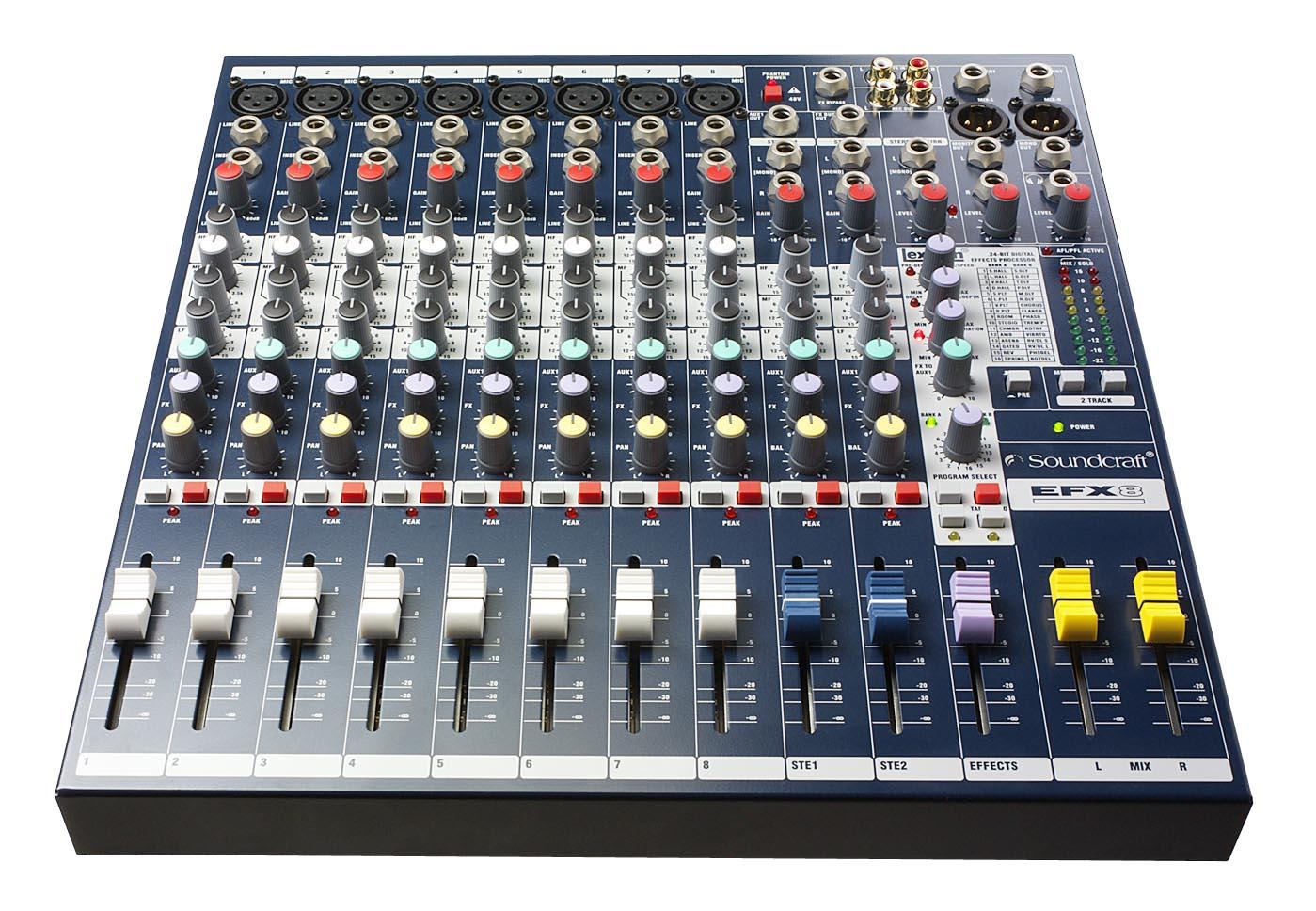 EFX8 | Soundcraft - Professional Audio Mixers