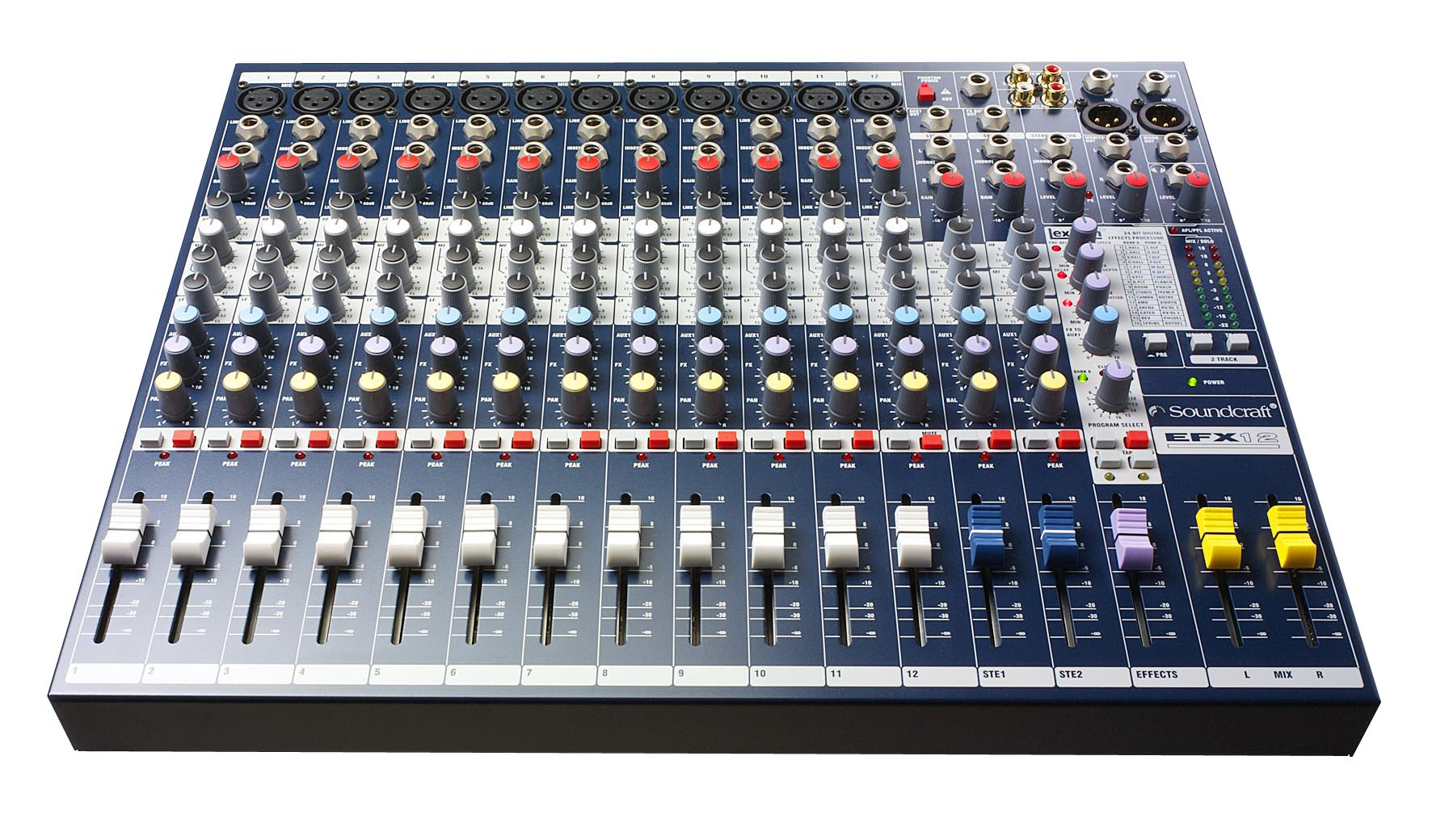 EFX12 | Soundcraft - Professional Audio Mixers