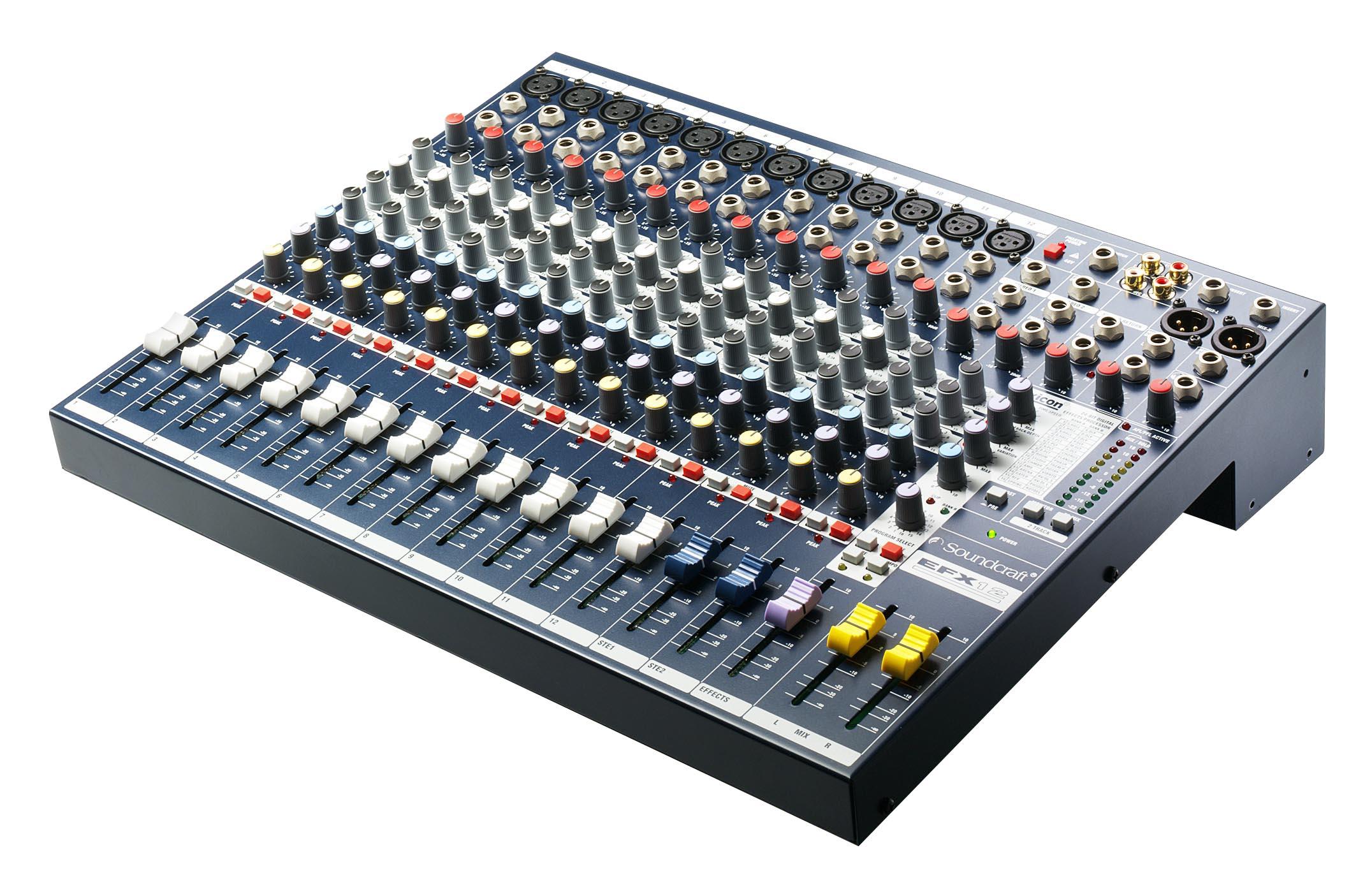 EFX12 | Soundcraft - Professional Audio Mixers on