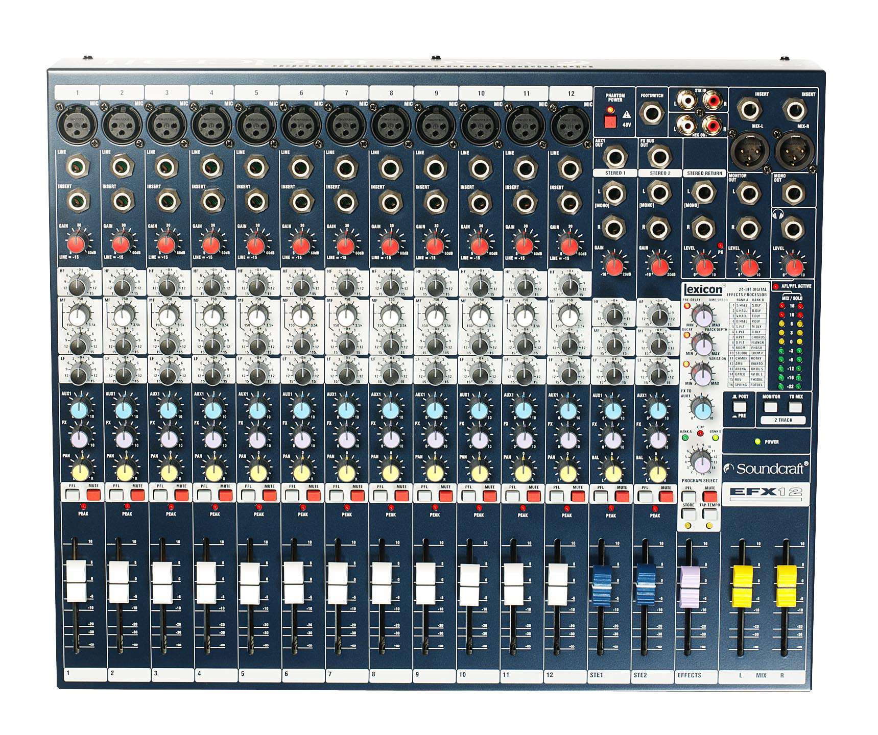 Efx12 Soundcraft Professional Audio Mixers Live Pa Wiring Diagrams