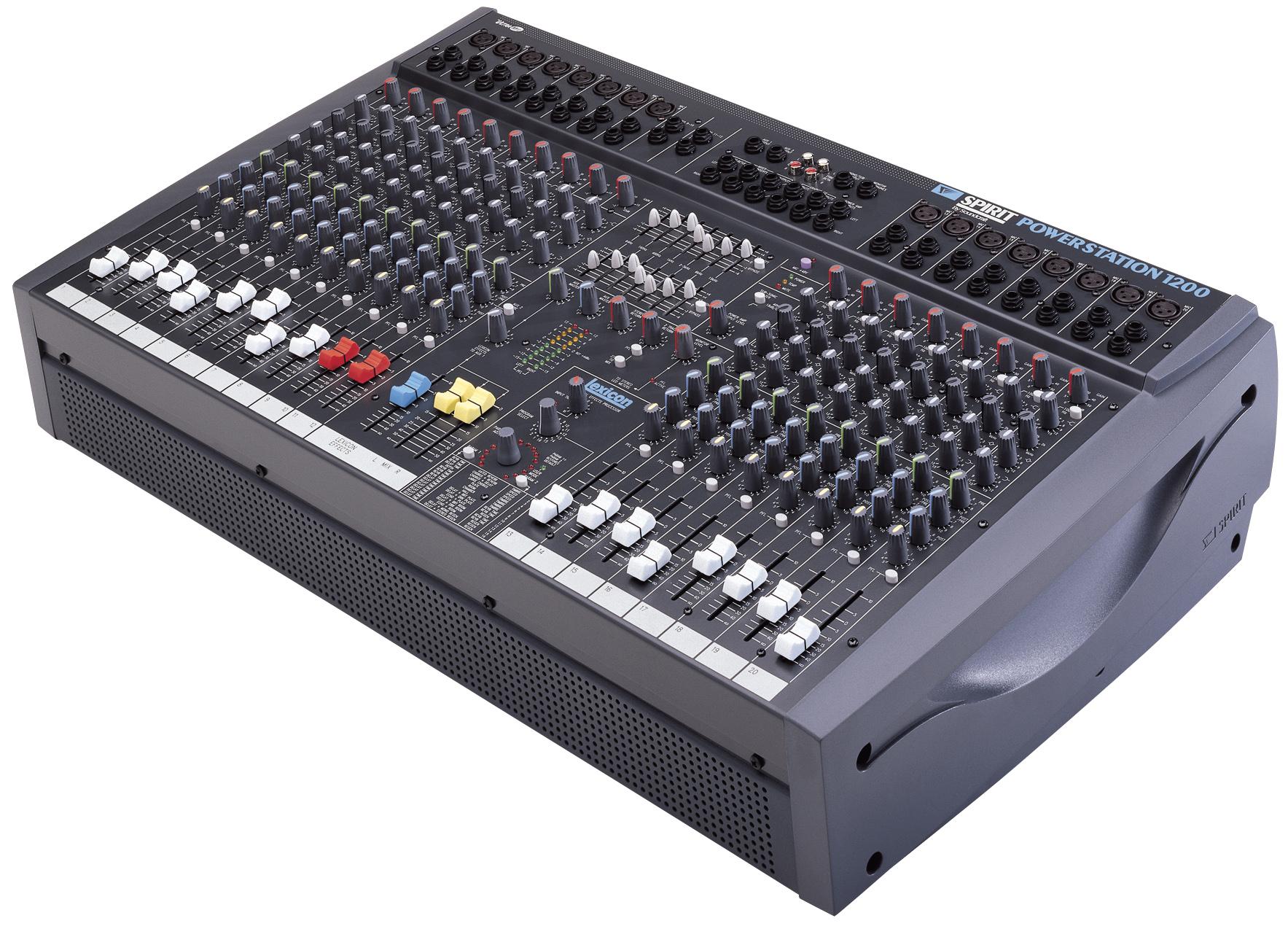 Spirit Powerstation 1200 Soundcraft Professional Audio Mixers Pa Mixer Interface Hookup Gearslutz Pro Community Larger Images