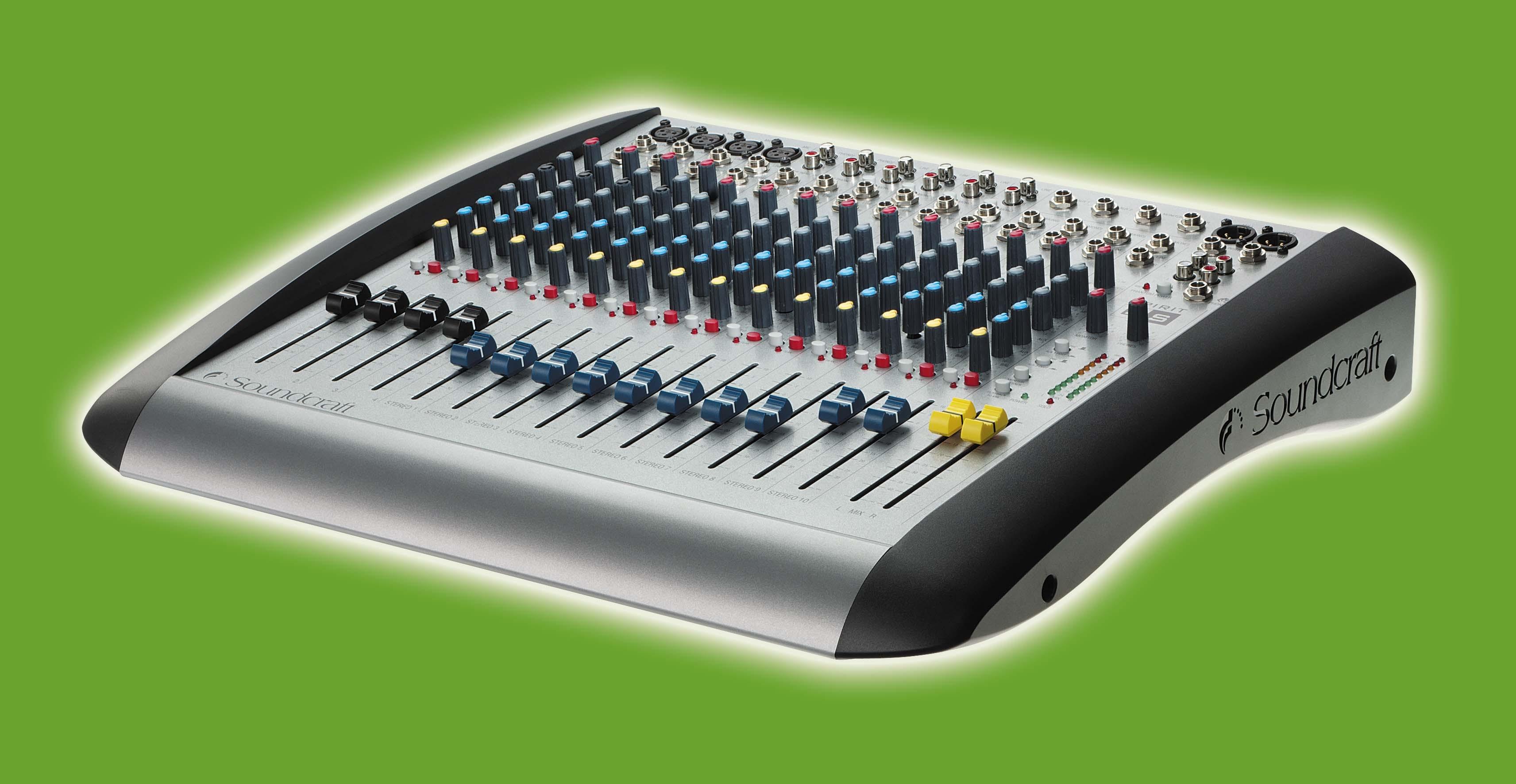 spirit e series soundcraft professional audio mixers rh soundcraft com Live with Randy California Spirit Visions of Spirits Live