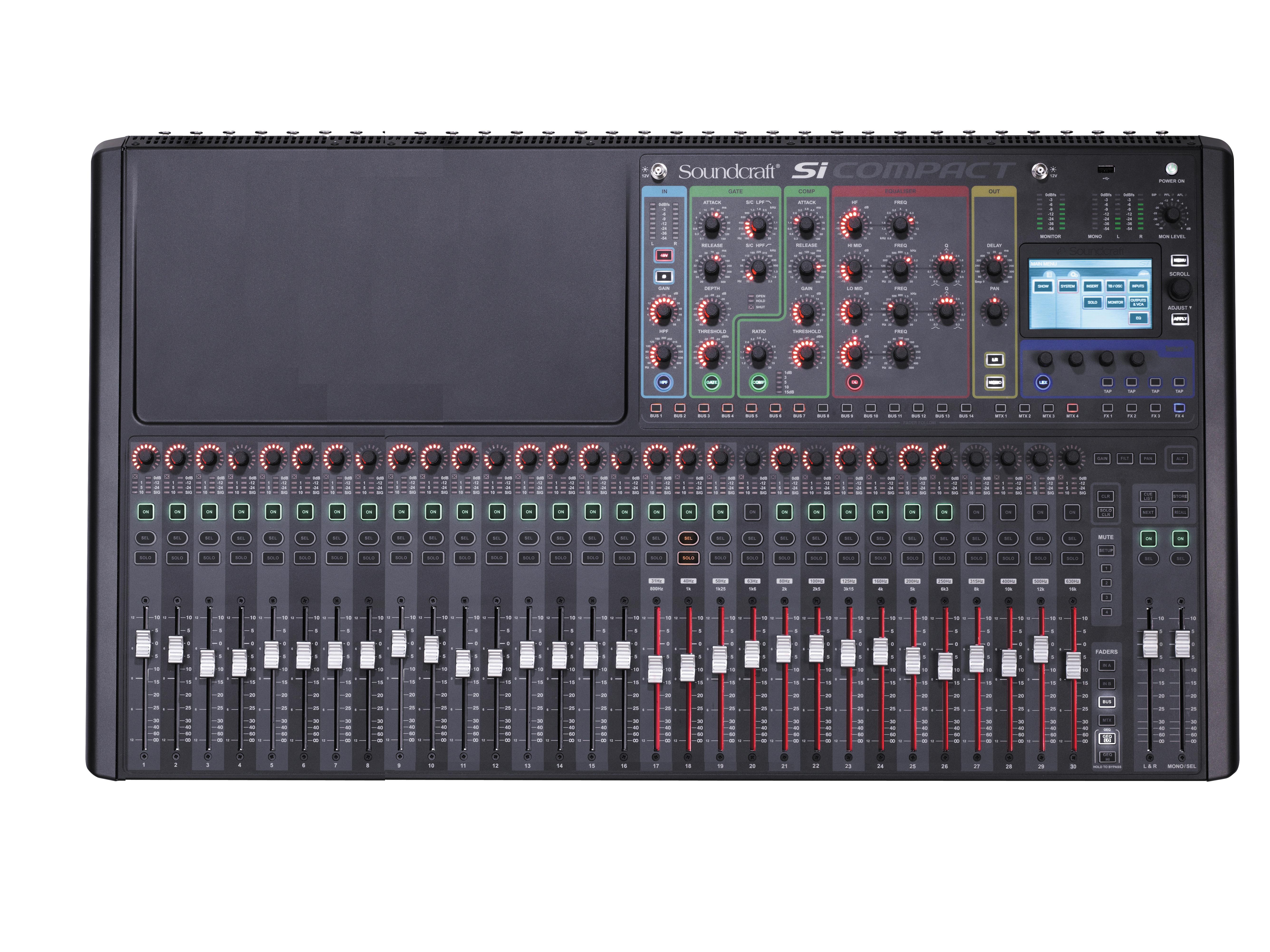 si compact 32 soundcraft professional audio mixers. Black Bedroom Furniture Sets. Home Design Ideas