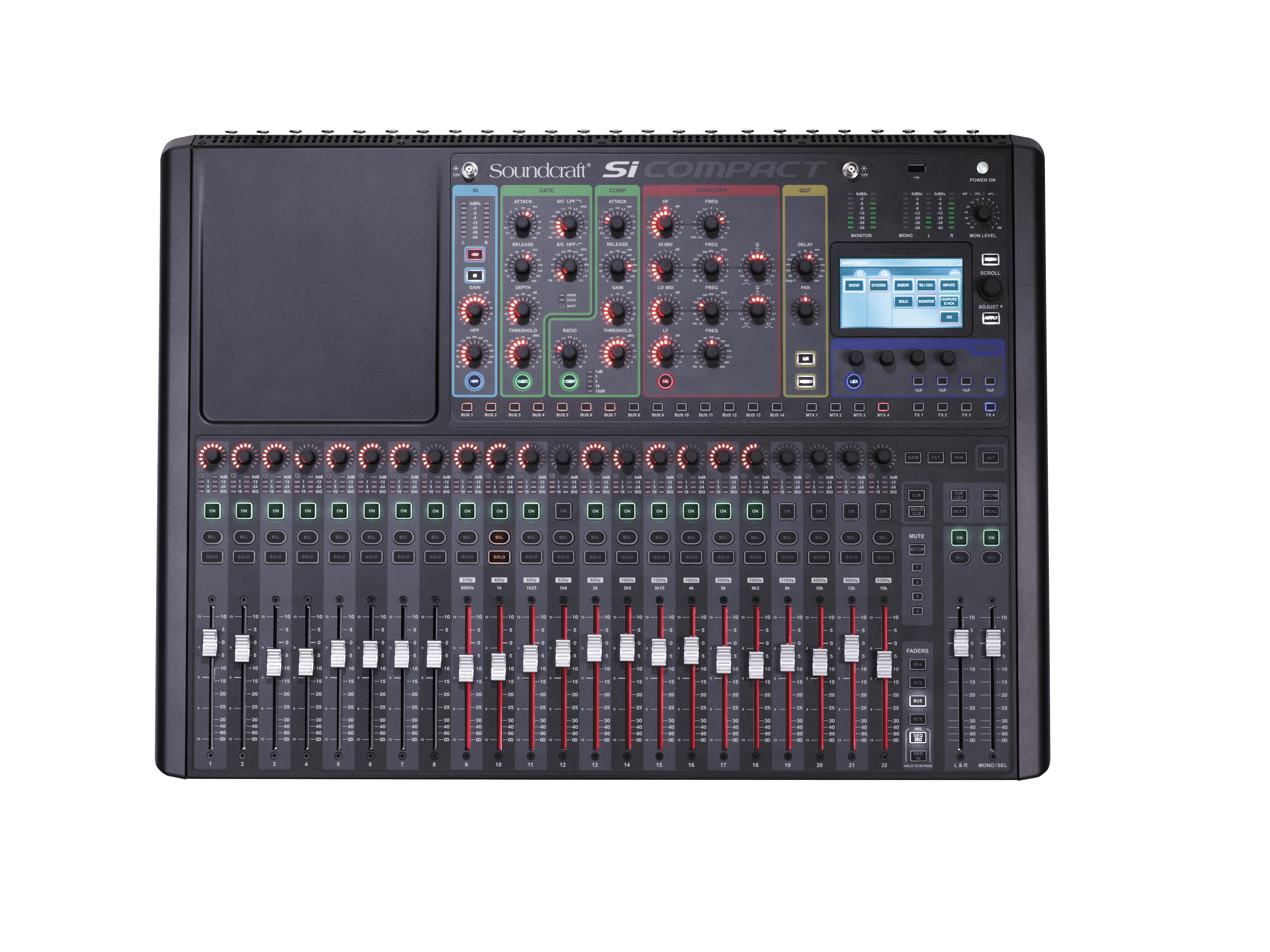Si Compact 24 | Soundcraft - Professional Audio Mixers