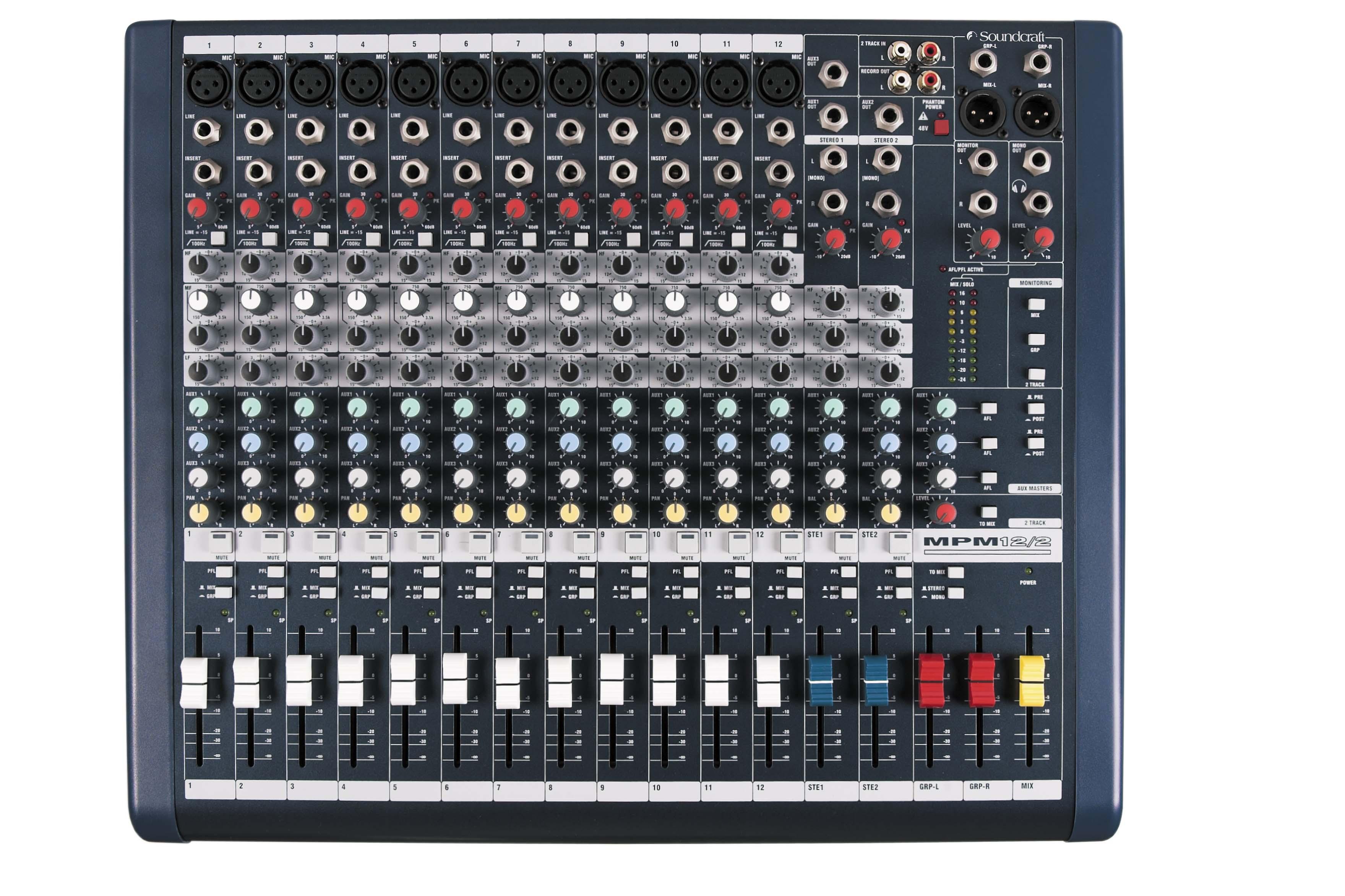 MPM | Soundcraft - Professional Audio Mixers